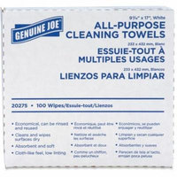 Media Sciences GJO20275CT All Purpose Cleaning Towels, Fabric - White