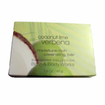 Bath & Body Works Coconut Lime Verbena Moisture Rich Cleansing Soap