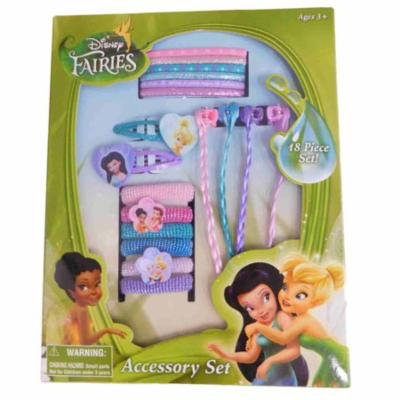 Tinkerbell Fairies In Style Hair Styling Hair Ponies Cosmetic Accessories Set