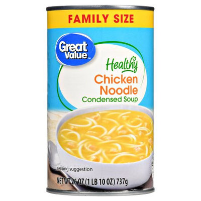Great Value Healthy Chicken Noodle Condensed Soup