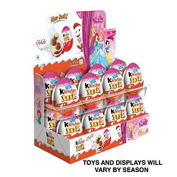(Kinder Display With 16 units) - Kinder Joy With Surprise Inside - Sold by ICSTORE (GIRLS Display W/ 16) : Grocery & Gourmet Food