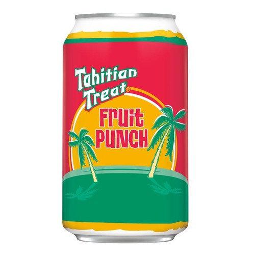 Tahitian Treat Fruit Punch Soda, 12 Fl. Oz., 6 Count