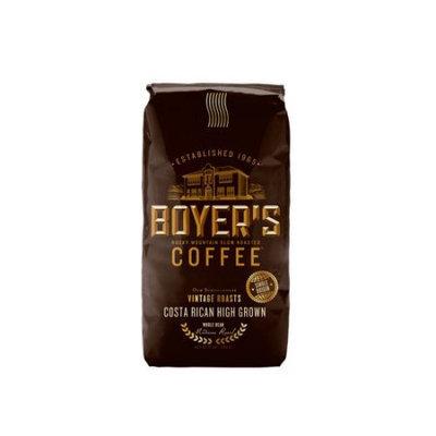 Boyer's Coffee Costa Rican High Grown Whole Bean Coffee, 12 oz