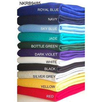Sweatshirt Fabric for Hoodies, Dressmaking, Craft. 17 colours. European Schools Approved and Tested, Brushed Back. Great performance, natural stretch [Black, Half Metre]