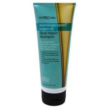 [LIMIT] ( PACK OF 3) Hi-Pro-Pac Shampoo, Moroccan Mend Argan Oil Deep Repair, 8 Ounce : Beauty