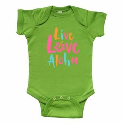 Live Love Aloha 2 Infant Creeper