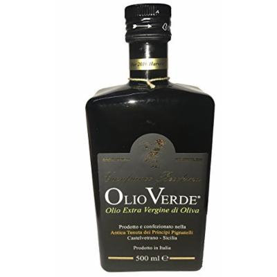 Olio Verde Extra Virgin Olive Oil 2016 Harvest 500 ml (Pack of 2)