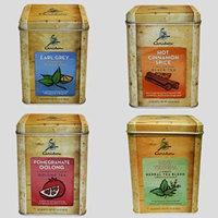 Caribou Tea Tins 20 - Sachets per Tin (4 Flavor Tea Sampler)
