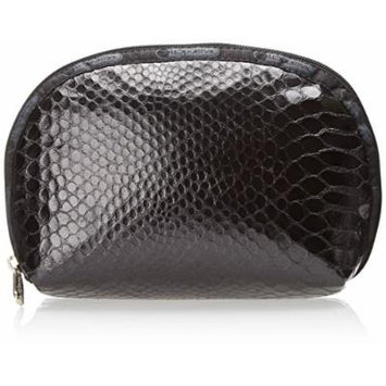LeSportsac Boxed Medium Zipper Dome Cosmetic Case, Leatherette Snake, One Size