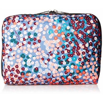 LeSportsac Extra Large Rectangular and Square Cosmetic Set Cosmetic Bag, Alla Prima Floral, One Size