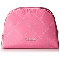Vera Bradley Preppy Polyester Large Cosmetic Bag, Blossom Pink, One Size