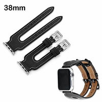 Asmyna Cell Phone Case for Apple Watch Series 2 38mm - Black