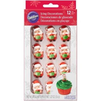 Wilton Santa Icing Decorations - 12ct/1.27oz