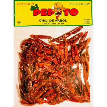 Nac Foods PEPITO CHILI ARBOL 12/3 OZ