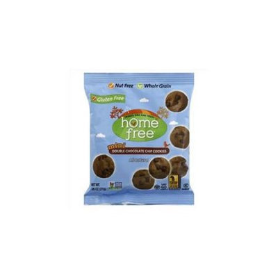 Homefree Cookie Gluten Free Mini Double Chocolate Ch 0.95 Oz Pack Of 10