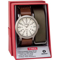 Mens Timex(R) Expedition Scout 43 Box Set Watch-TWG016100JT, Brown