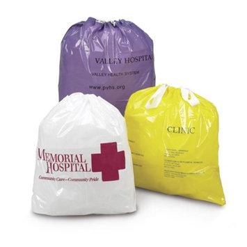 Medegen Medical MAI 50-53 20 x 20 x 4 in. Personal Belongings Bag Green - 100 per Case