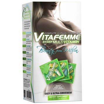 FEMME, Vitafemme, 21-Day Multivitamin, 21 Packets