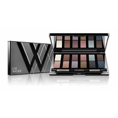 Lise Watier Smokey nudes 12-colour eyeshadow palette, 18.2 Gram