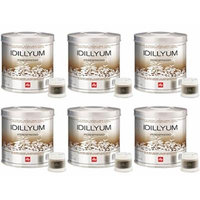 Illy Capsules Idillyum - Set 6 cans of 21 capsules each Transparent