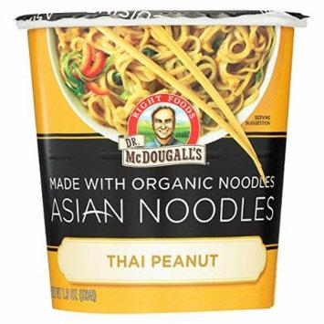 Dr. McDougall's Thai Peanut Asian Noodles - Case of 6 - 1.9 oz.