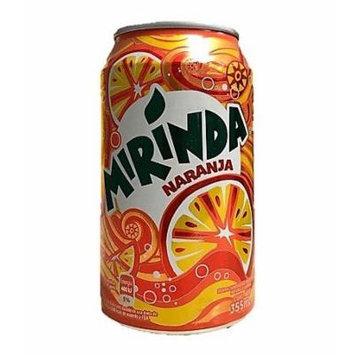 Soda Mirinda Naranja / Mirinda Soft Drink - Orange / Can 12 oz - 6 Pack