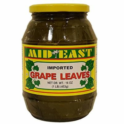 Mid East Grape Leaves, 1 LB, 453g (1)