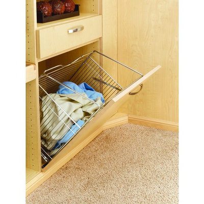 Rev-A-Shelf Chrome Tilt Out Hamper Basket CTOHB-211319-CR-52