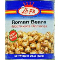 La Fe Foods La Fe Roman Beans 29 Oz