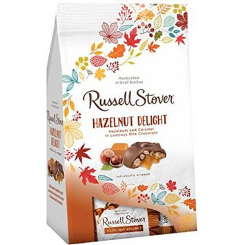 Russel Stover Milk Chocolate Delights High End Chocolate Gifts Fall Edition Net Wt 5.4 Oz (Hazlenut, 4)