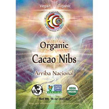 Earth Circle Organics Ecuador Nibs 16oz