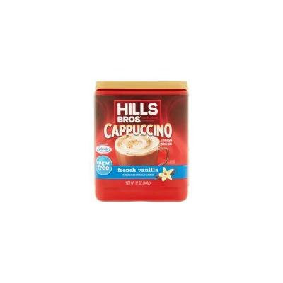 Hills Bros Sugar Free French Vanilla Cappuccino Beverage Mix, 12 Oz - Pack of 3