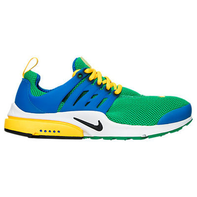 Nike Men's Air Presto Running Shoe, Blue/Green/Yellow
