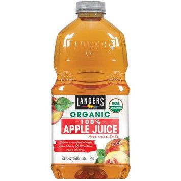 Langer Juice Co. Langers 100% Organic Apple Juice, 64 Fl Oz, 1 Count
