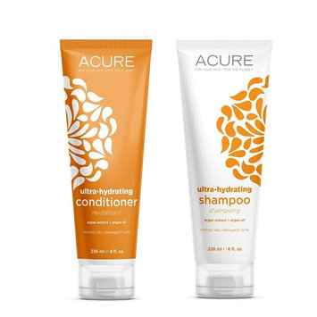 Ultra-hydrating shampoo and conditioner
