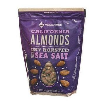 Member's Mark Dry Roasted Almonds with Sea Salt (40 oz.)