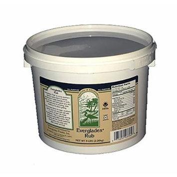 Everglades Seasoning 5 lb Rub Bulk Restaurant Size Tub