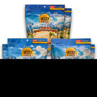 Grizzly Ridge Lunch/Dinner, (Pack of 6)