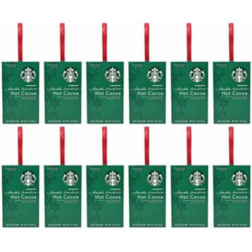 Starbucks Hot Cocoa Double Chocolate - 12 pack - Christmas Gift Box for Family, Friends, Her, Him and more