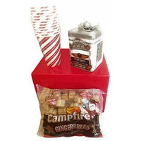 Hot Chocolate Holiday Gift Set of Three with Swiss Miss Cocoa, Gingerbread Christmas Marshmallows and Hot/Cold Merry Drinking Beverage Cups