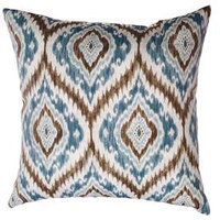 allen + roth Floral Square Throw Outdoor Decorative Pillow ZZTP-012