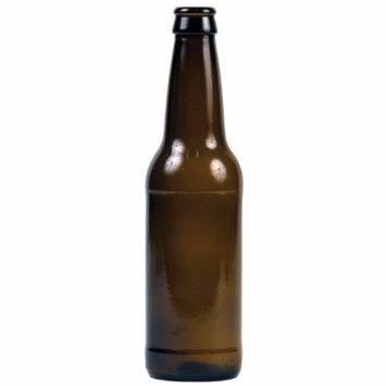12 oz Beer Bottles- AMBER- Case of 24