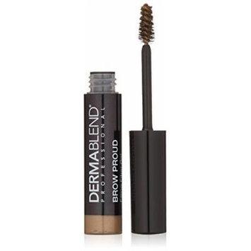 Dermablend Brow Proud Filling Fiber Eyebrow Gel Smudge and Transfer Resistant, Dark Blonde