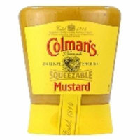 Colman's English Squeezy Mustard 150G Case Of 6