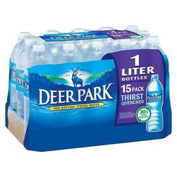 Deer Park Natural Spring Water (1L bottles, 15 pk.) (pack of 2)