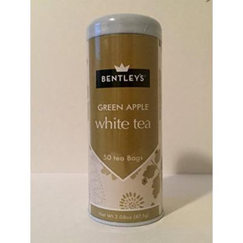 Bentley's tranquility line green apple white tea 50 tea bags (3 pack)