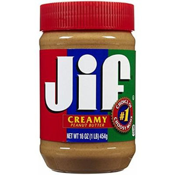 Jif Peanut Butter Creamy 16 oz - Pack of 3
