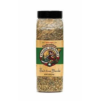 Engage Organics Garlic Saltless Seasoning, 23.8 Ounce