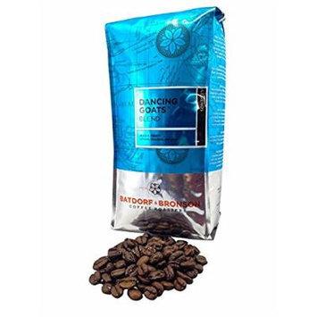 Batdorf & Bronson Dancing Goats Blend, Whole Bean Coffee, 12 oz (2 Pack)