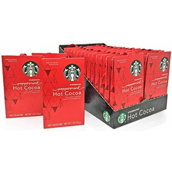 Starbucks Hot Cocoa Peppermint - 28 pack- Christmas Gift Box for Family, Friends, Her, Him and more